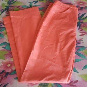 Club monaco peachy pink dress pants